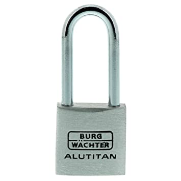 Vorhängeschloss Sicherheitsschloss High Security mit 4 Schlüssel