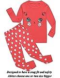 Girls Pajamas Toddler Clothes Cat Little Kids Pjs