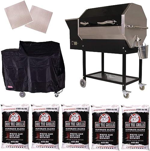 REC TEC Grills RT-590 Portable Wood Pellet Grill