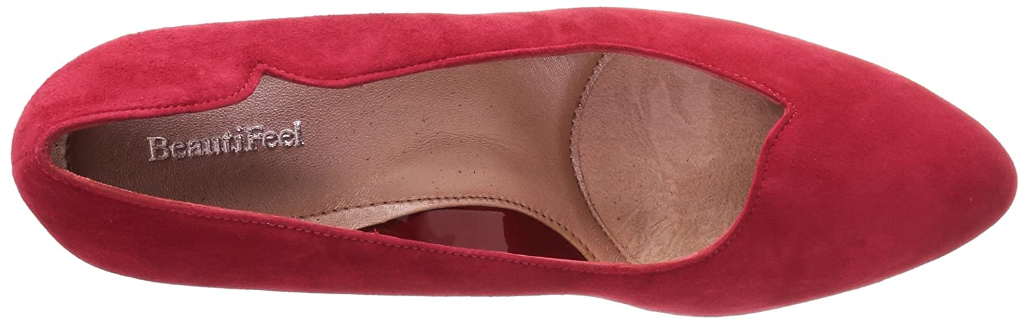 BeautiFeel Women's Passion Pump B06Y2H8H8G 415 Medium EU (10.5 US)|Red Suede