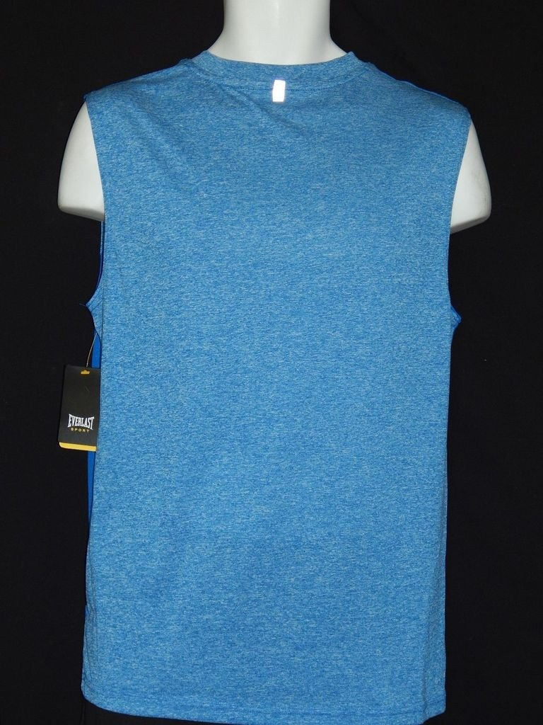3bab8d3d2d4b9 Everlast sleeveless tee shirt mens sizes boxing new heather blue mma  wicking sports outdoors jpg 768x1024