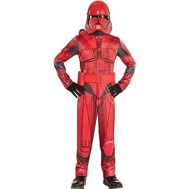 Party City Star Wars 9: Disfraz de Sith Trooper para niños, tamaño ...
