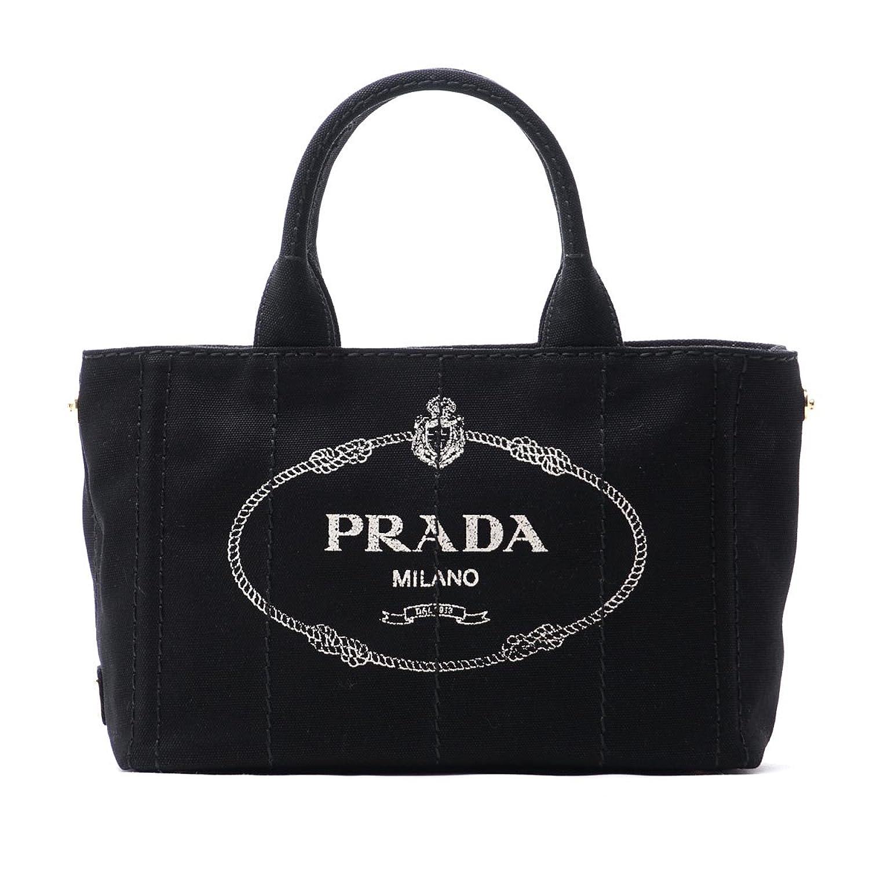 (プラダ) PRADA ハンドバッグ 2WAY CANAPA [並行輸入品] B073B4F7SG