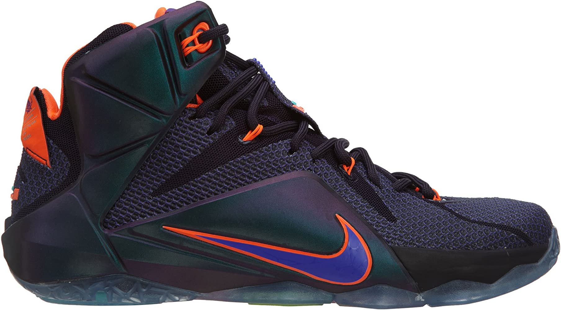 Nike Men's Lebron XII Purple/Orange