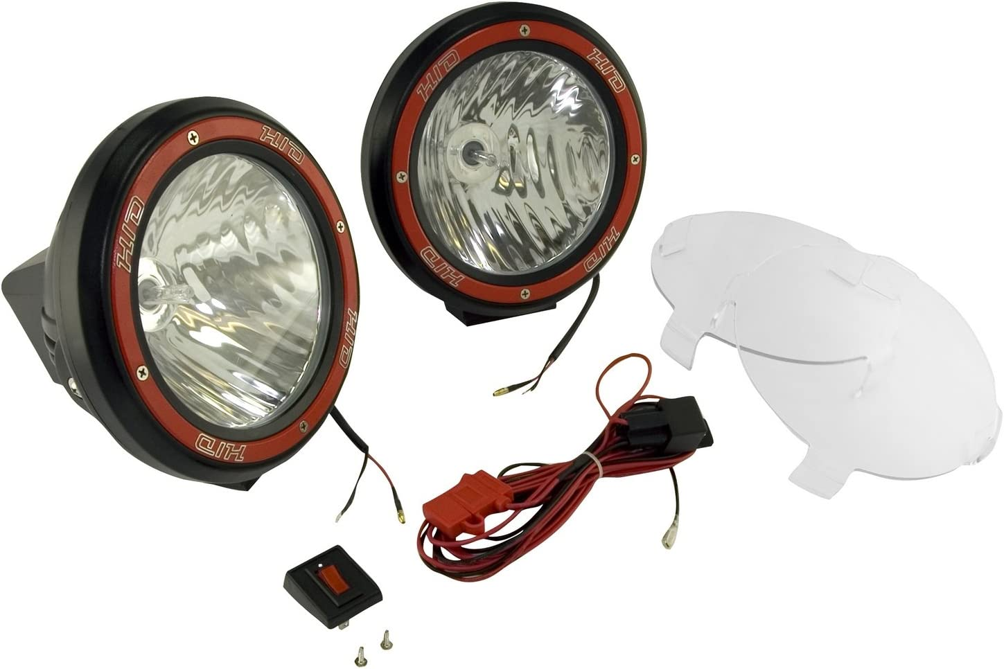 Rugged Ridge 15205.53 7-Inch Black Light Limited time cheap sale Round Manufacturer regenerated product with HID Off-Road