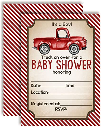 20 5x7 Fill in Cards with Twenty White Envelopes by AmandaCreation Little Man Bow Tie Baby Boy Sprinkle Baby Shower Invitations