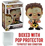 Funko Pop! Movies: Texas Chainsaw Massacre - Leatherface Vinyl Figure (Bundled with Pop BOX PROTECTOR CASE)