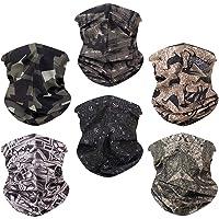 Toes Home 6PCS Outdoor Magic Headband Elastic Seamless Bandana Scarf UV Resistence Sport Headwear Boho Series for Yoga…