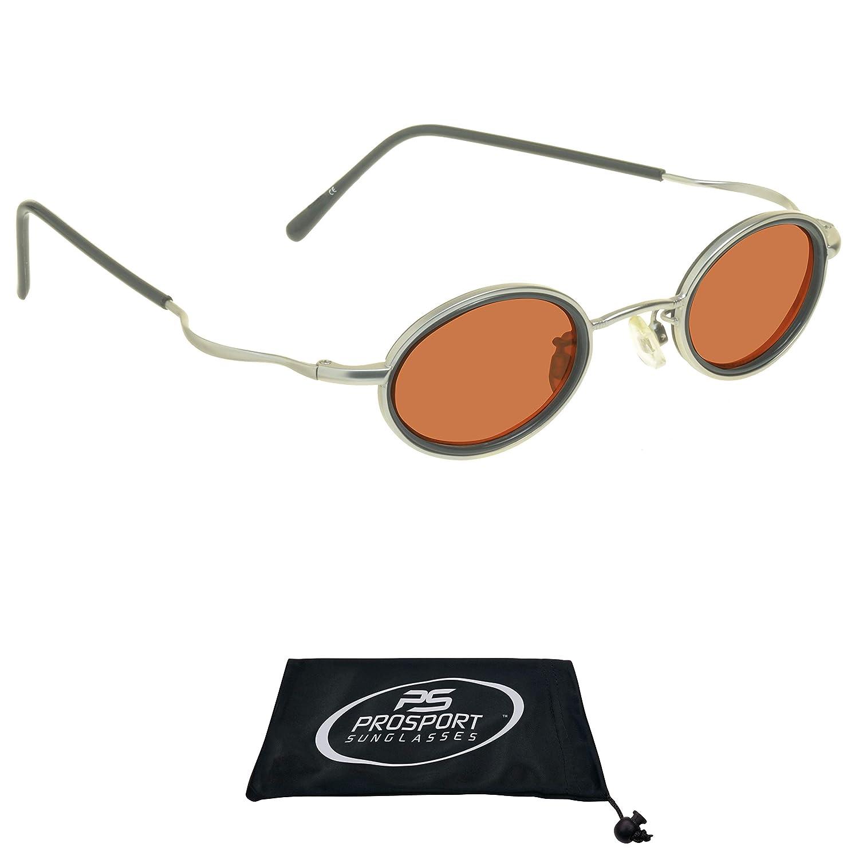 Amazon.com: Pequeño y redondo Vintage retro 70s anteojos de ...