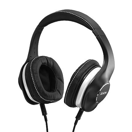 Denon AH-D600 Music Maniac Over-Ear Headphones, Black