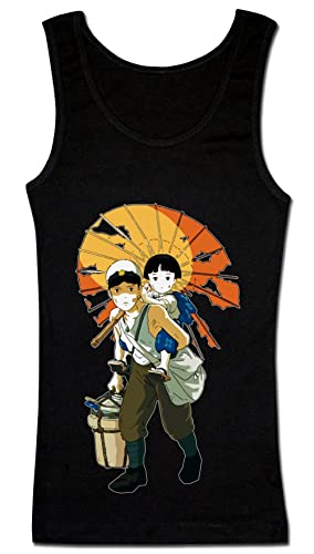 Characters Seita And Setsuko Artwork Camiseta sin mangas para mujer