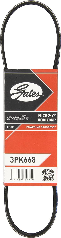 Gates 3PK668 Courroie Micro-V
