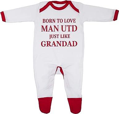 Cheekytots Baby-Strampler mit Aufschrift I Dribble For Arsenal 100/% Baumwolle