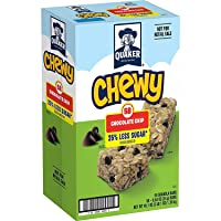 Deals on 58 Bars Quaker Chewy Granola Bars Chocolate Chip