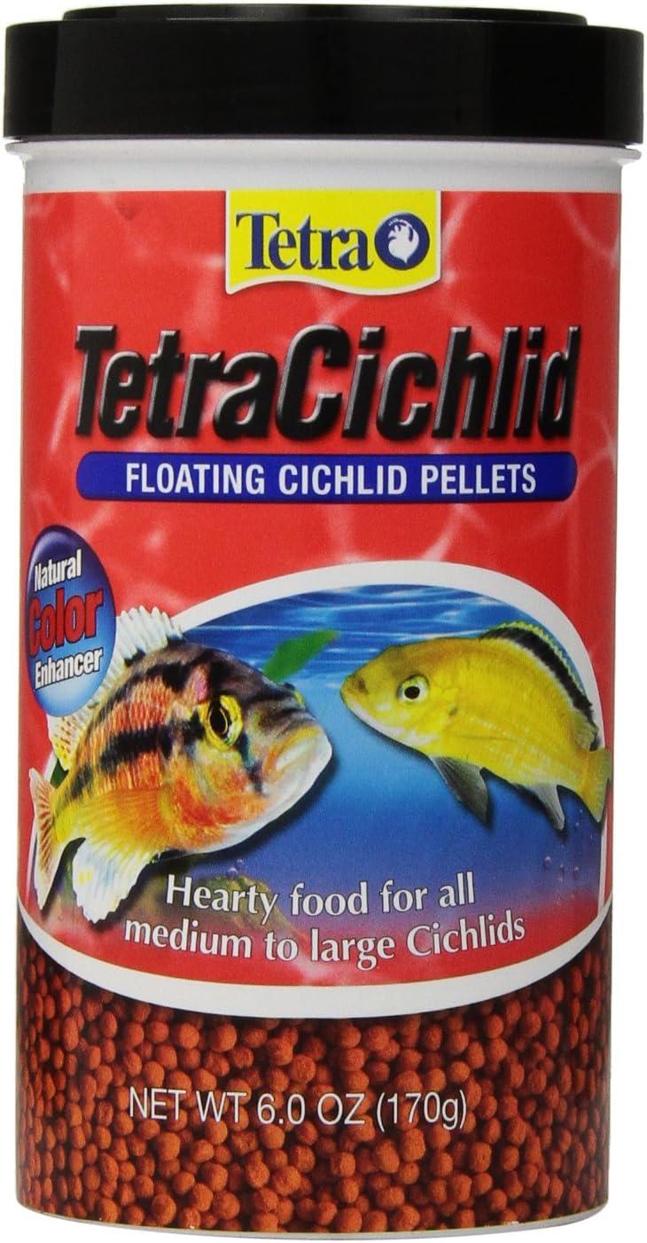 Tetra 77063 TetraCichlid Floating Pellets