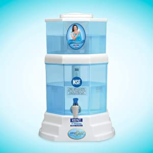KENT Gold 20-Litres UF technology based Gravity Water Purifier, Blue