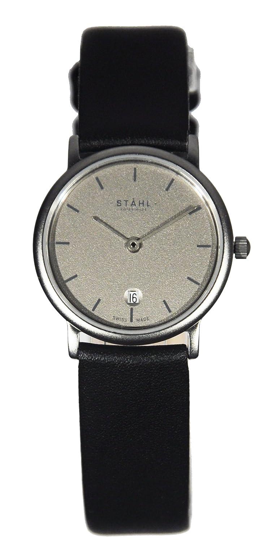 Stahl Damenuhr Quarz ST61402