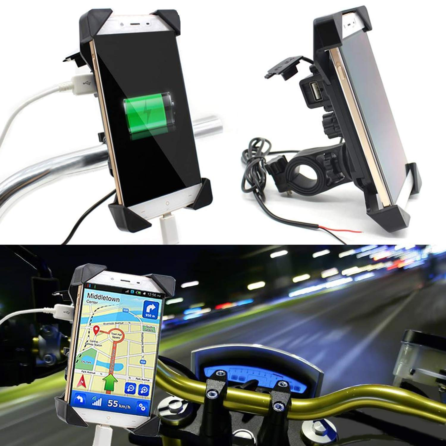 ike Mobile charger with holder