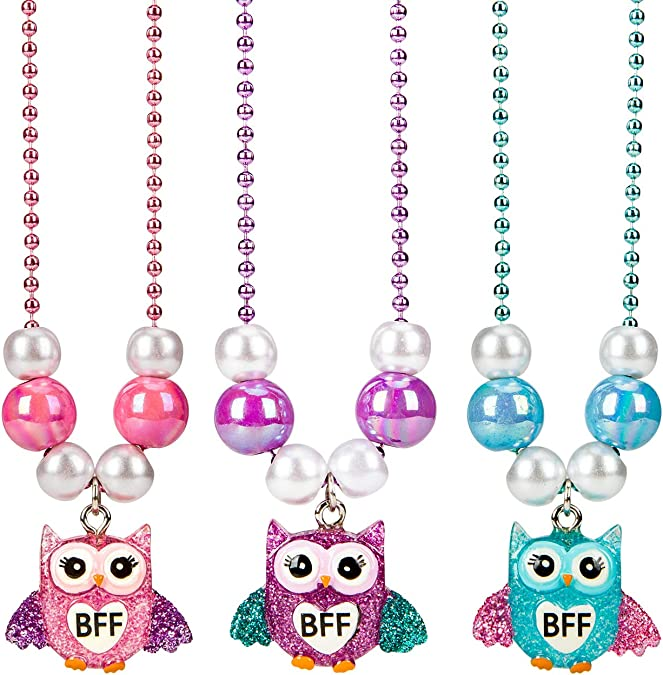 SkyWiseWin Best Friend Half Heart Necklaces for Kids