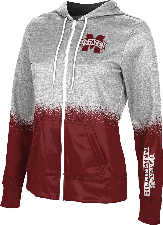 ProSphere Mississippi State University Girls Zipper Hoodie Spray Over School Spirit Sweatshirt