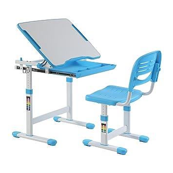 escritorio para nios ergonmica mesa inclinable silla de mesa ajustable para nios con cajn gratis timmy