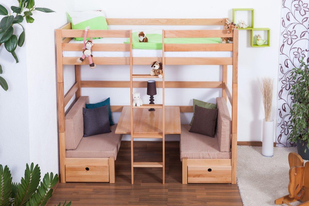 Etagenbett Umbaubar : Kinderbett etagenbett funktionsbett tim umbaubar zu einem tisch