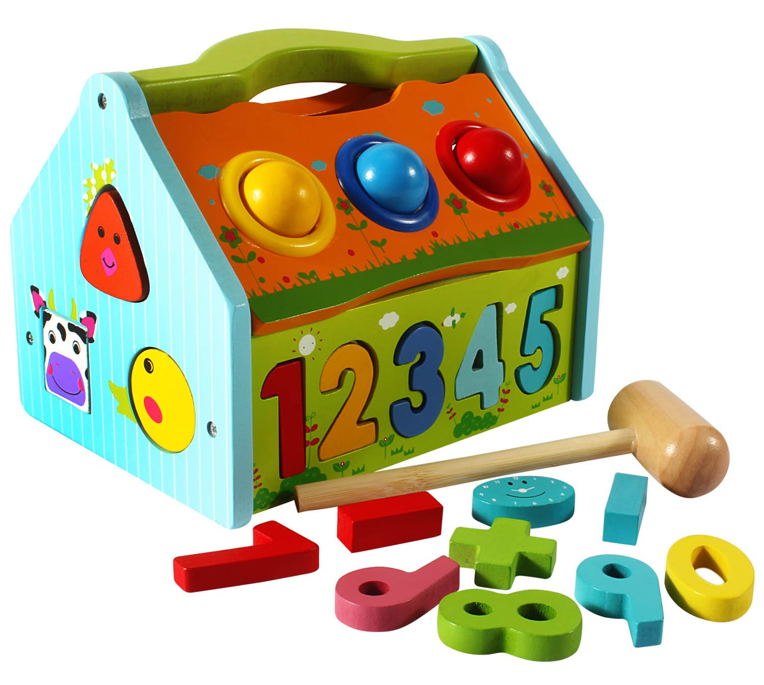 Buy Tongmukuwan Multi Functional Wooden Activity Smart House