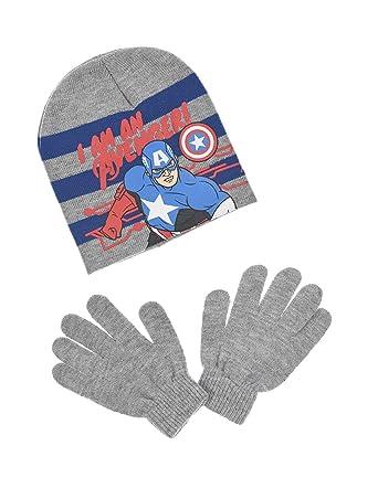 Les Avengers Bonnet et gants enfant garçon 3 coloris de 3 à 9ans   Amazon.fr  Vêtements et accessoires b54613e1ff1