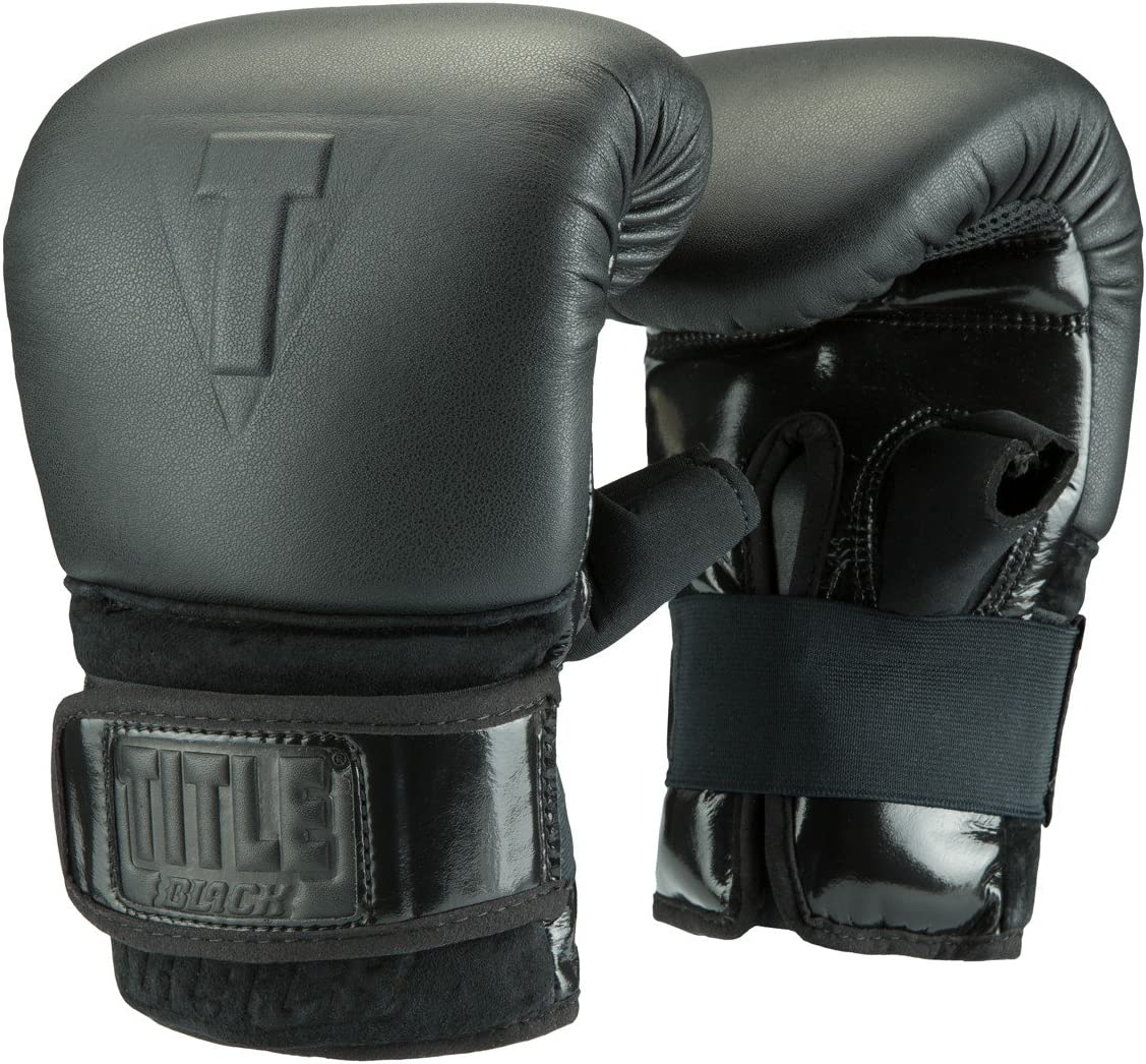 タイトルブラックProバッグ手袋 ブラック Medium