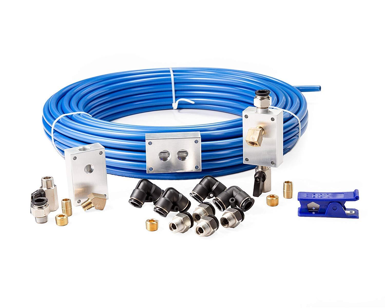 Rapidair 90500 1/2'' x 100' Air-Compressor Accessories Master Kit, 17.5'' x 17.3'' x 4.2''