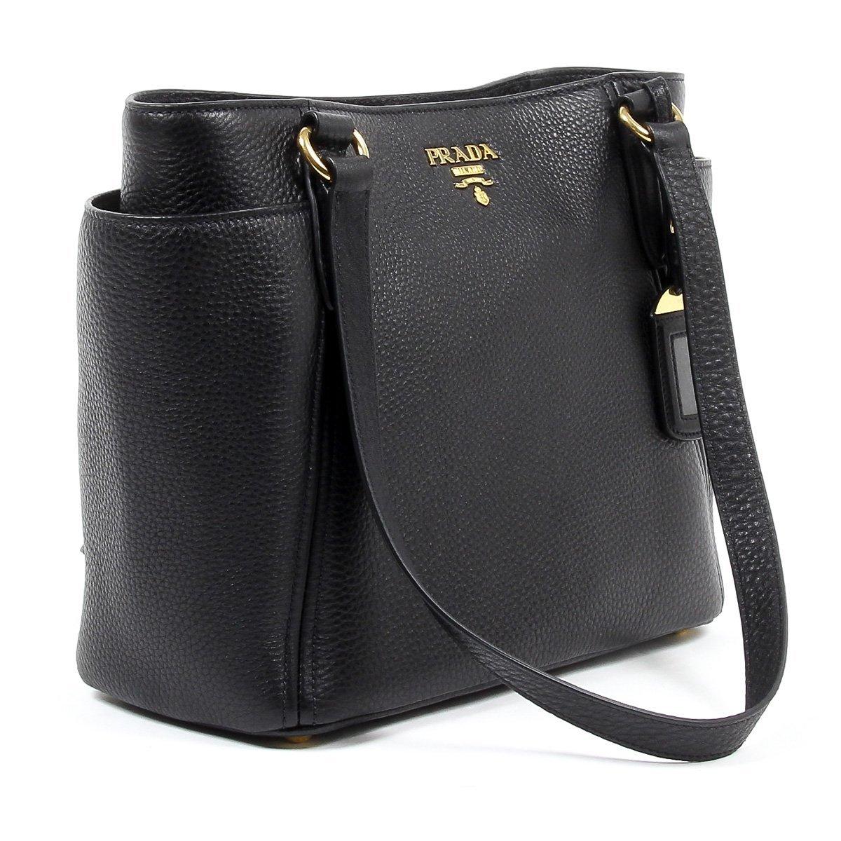 9cb08f739d68 Prada Womens Handbag 1BG113 UWL F0002 NERO VIT DAINO: Amazon.co.uk: Shoes &  Bags