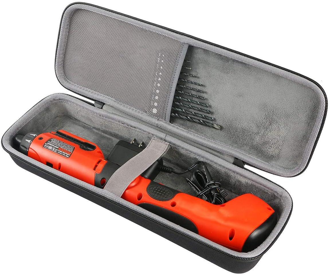co2crea Hard Travel Case for BLACK+DECKER PD600 Pivot Plus 6-Volt Nicad Cordless Screwdriver