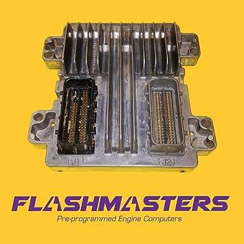 12597121 Programmed to your VIN ECM PCM ECU No 2007 Saturn Aura Engine Computer Serv