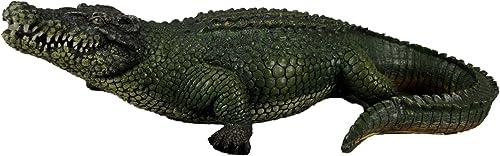 Things2Die4 21 Inch Alligator Statue Gator Garden Outdoor Figure