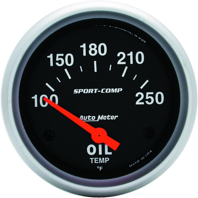 Auto Meter 3542 Sport-Comp Electric Oil Temperature Gauge