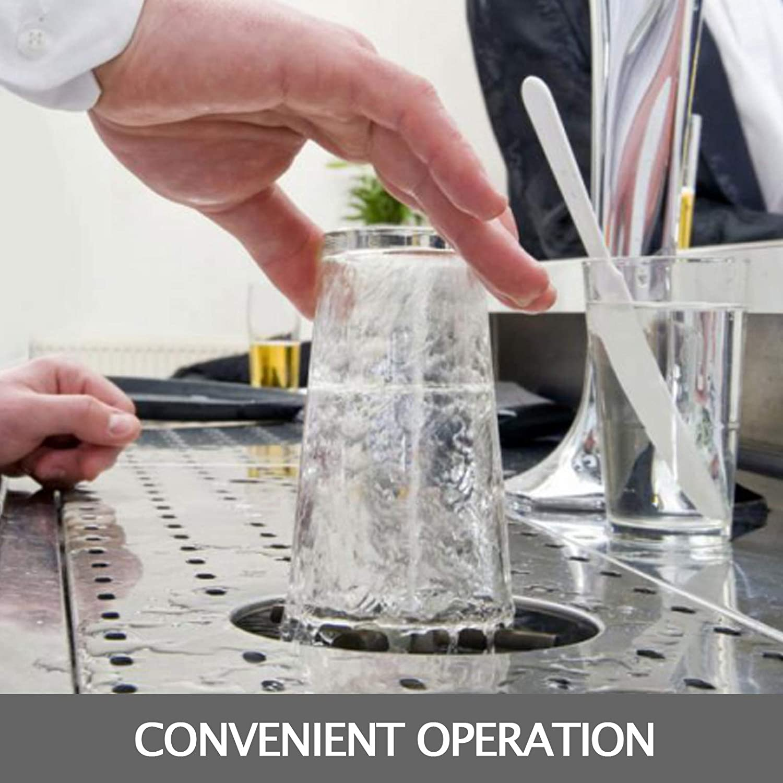 Kaffeetassen usw Bierglas Rinser Waschmaschine Gl/äsersp/üler VEVOR Glasreinigungssp/üler 12.8x6.9 Zoll Bar Rinser f/ür Trinkgl/äsern