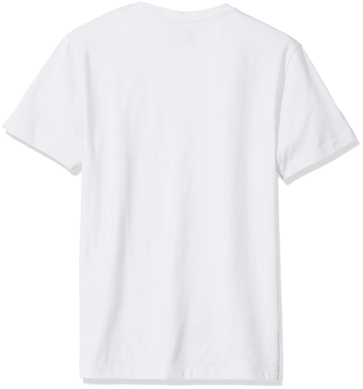 Lacoste Mens Sport Short Sleeve Print Graphic T-Shirt