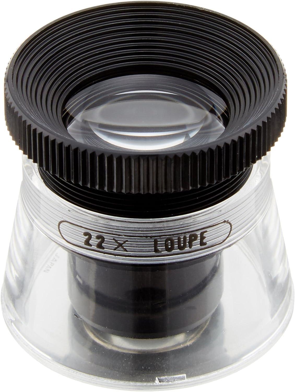 PEAK TS2016 Full Focus Measuring Loupes 4 Lens Optical System 65//128 Lens Diameter 0.55 Field View Start International 15X Magnification 65//128 Lens Diameter 0.55 Field View