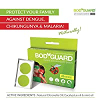 Bodyguard Premium Natural Anti Mosquito Repellent Patches - 20 + 4 Patches