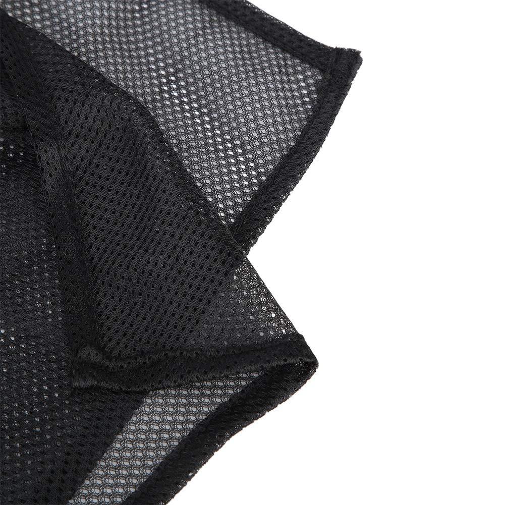 1 Pair//Set Anti-UV Sun Shade Car Rear Side Window Curtain Car Mesh Cotton Sun Protection Curtains with Suction Cups
