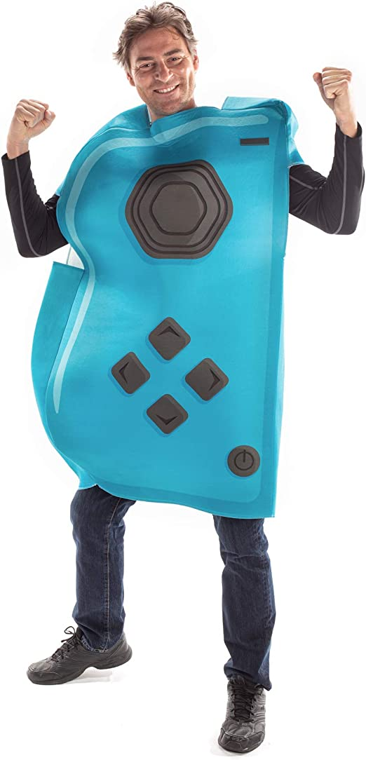 Joyful Controller Red Unisex Adult Video Game Outfit Halloween Costume