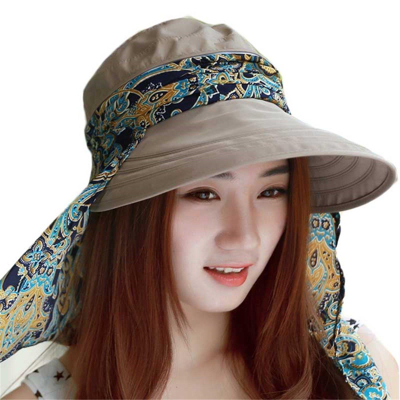 Amazon.com  Sun Hats Summer Hats for Women Beach Hat Sun Visor Hat Visor 017398ff8c67