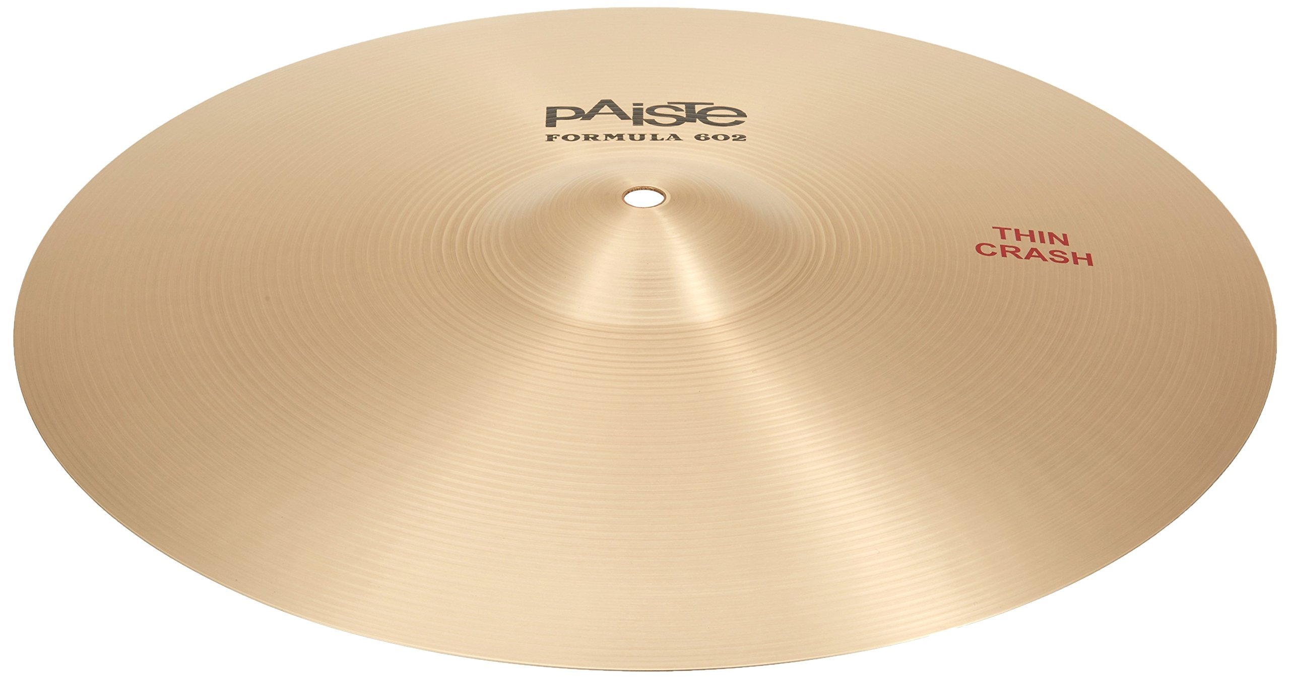 Paiste Formula 602 Series Crash 16 in. Thin