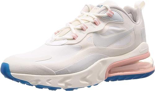 air max 270 react pink and gray