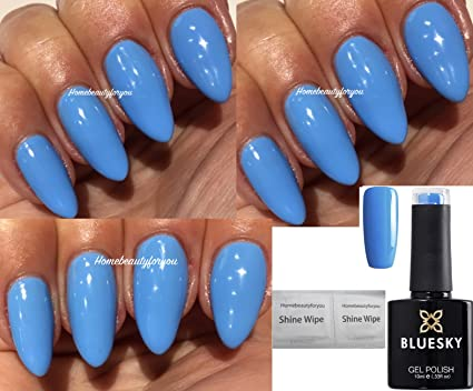 Blue Sky A101 lumière bleu ciel Iris Vernis à ongles gel UV LED Soak Off 10