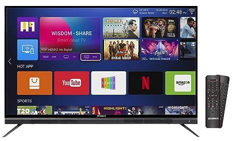 Shinco 140 Cm 4k Uhd Smart Led Tv S55qhdr10 Amazonin Electronics