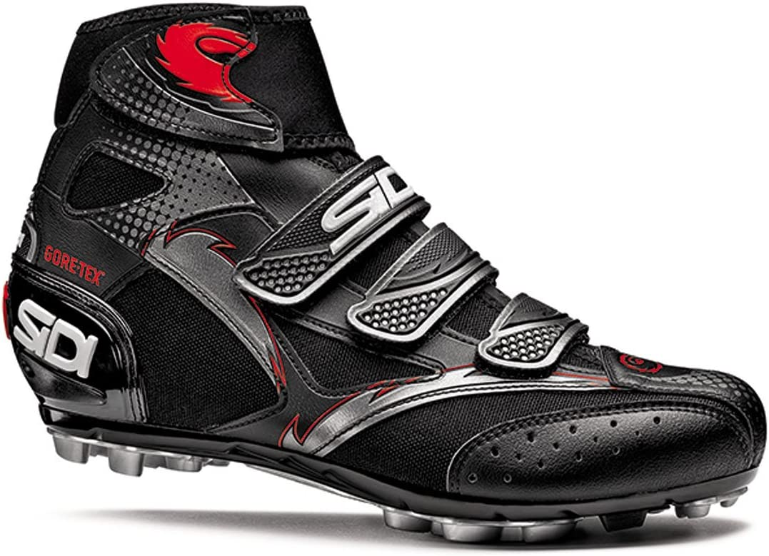 Amazon.com: Sidi Diablo GTX Winter Mountain Shoe, 44, Black/Black: Sports & Outdoors