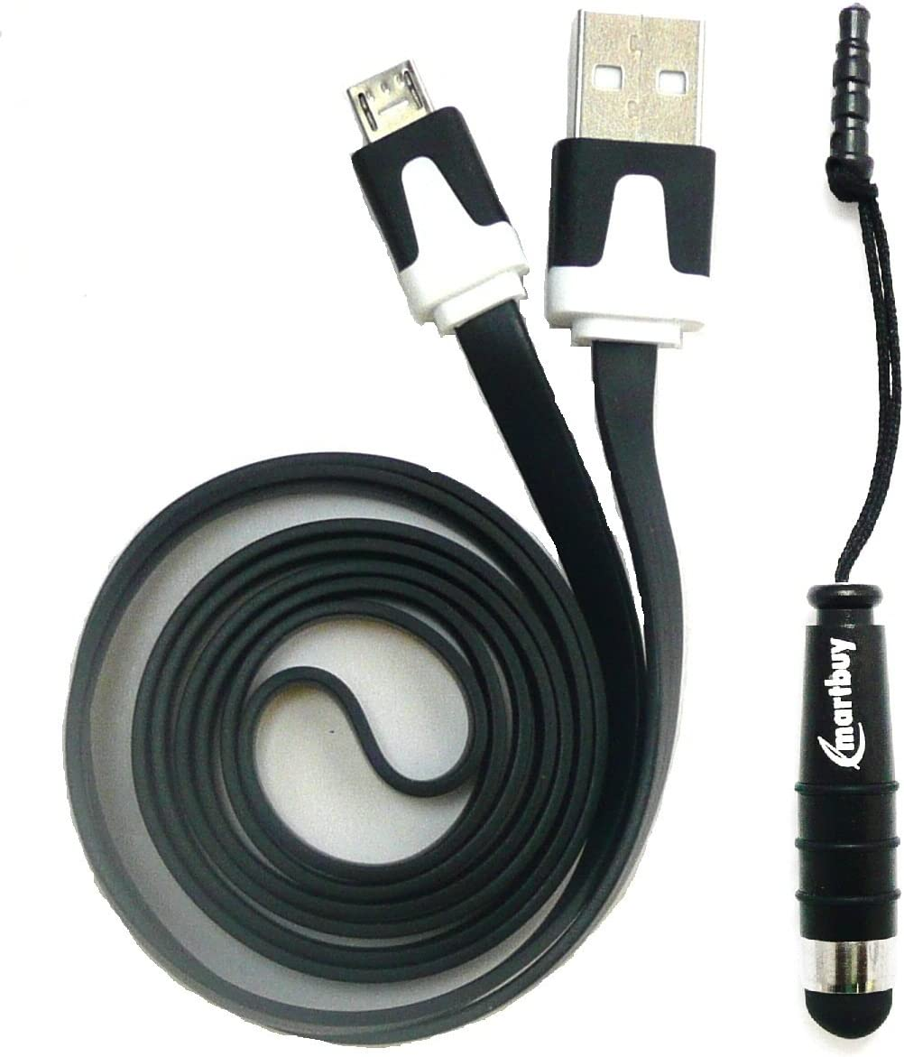 Rot Mini Eingabestift Emartbuy/® Medion LifeTab P8314 8 Zoll Tablet PC Duo Pack Rot Flache Mikro USB Daten /& Ladekabel