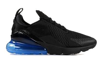 194bb278cc Maxsell Unisex Air Max 270 Black Black Photo Blue Mens Womens Running Shoes  (Mens: