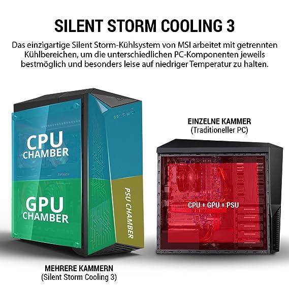 MSI Infinite A VR7RD-002DE + Gaming Pack 3.6GHz i7-7700 Midi Torre 7ª generación de procesadores Intel® CoreTM i7 Negro PC - Ordenador de sobremesa (3,6 GHz ...